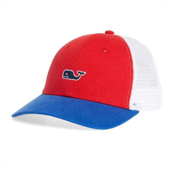 a1b00d4479aa4 VINEYARD VINES high profile trucker hat